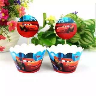 Cupcake Topper + Cupcake Cup Wrapper