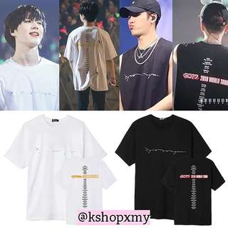 GOT7 ' Eyes On You ' 2018 World Tour Tee