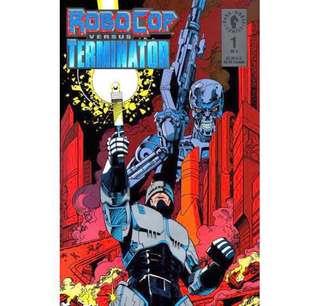 ROBOCOP VS. TERMINATOR #1-4 (1992) Complete set
