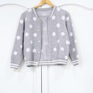 Gray Polka Jacket