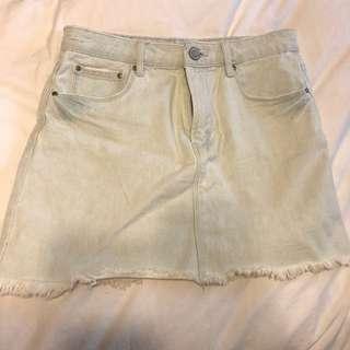 Denim skirt (F21)