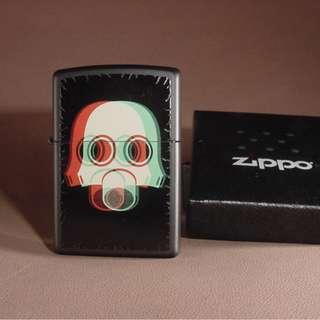 美國 Zippo 打火機 29417 Nuclear Mask 3D