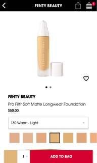 Fenty Beauty Pro Filt'r foundation 130