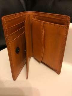 Katherine Hamnett brown leather wallet