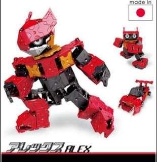 🤹♂️ LaQ Build Up Robot Alex - BNIB (gift idea)