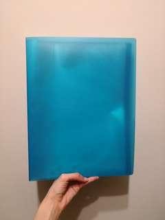 Blue A4 File