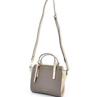 LH-C1383 [ Legato Largo ] Grey Foil Print Mini Shoulder Bag
