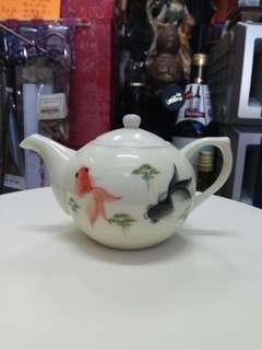 手繪瓷茶壼