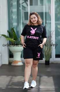 Playboy plus size set