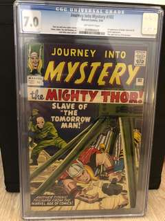 Journey into Mystery #102 UK CGC 7.0 First Appearance of Hela,  Balder and Sif