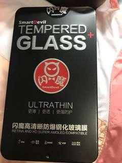 鋼化玻璃膜ip6白色3盒