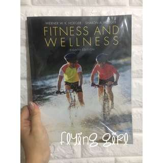 fitness and wellness book 書