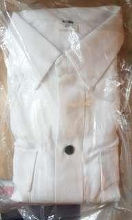 全新未拆袋 單上衫 短袖 白衫 制服 9碼 約加大碼