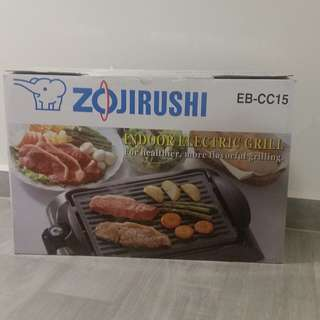 [Mint Condition] Zojirushi EB-CC15 Indoor Electric BBQ Grill For Kitchen & Outdoor.