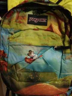 Authentic Mickey Jansport Backpacks