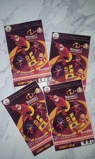 Incredibles 2 (Block Screening Ticket)