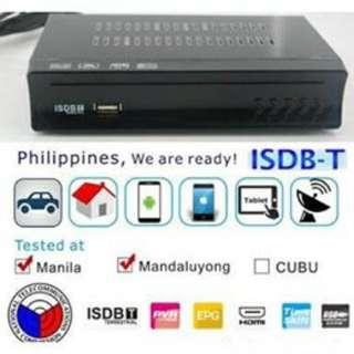 Home ISDB-T Digital TV BOX TV Plus with antenna