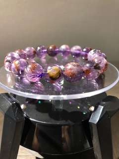 紫幽灵手串