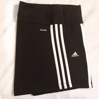 ADIDAS high waisted stretchy shorts
