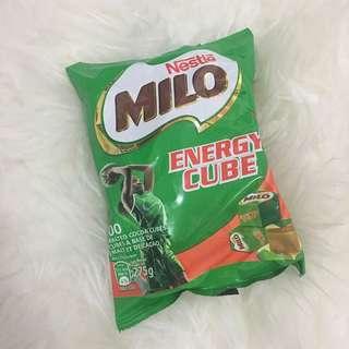 Milo energy cube nestle