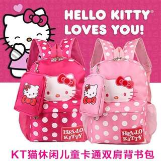 Hello kitty bag pack 16inches
