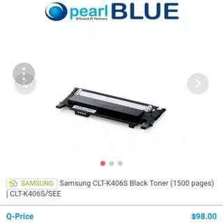 BN Samsung Ink Catridge CLK-K406S