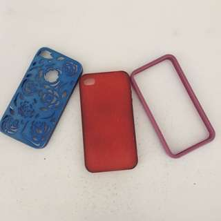 Casing Iphone 4 (3pcs)