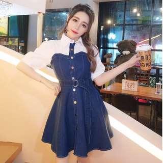 💋 Fake 2pcs Dress