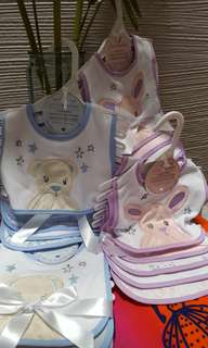 Piccolo Bambino Bib Set (5 pieces per set) #July100