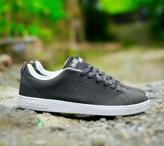 Adidas Neo Nubuk DrakGrey White BNWB