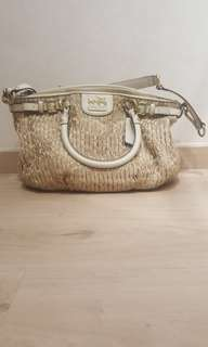 Authentic Coach handbag with shoulder sling