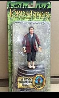 LOTR Bilbo's 111th birthday figurine