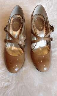 Anna Sui ballet heel shoe