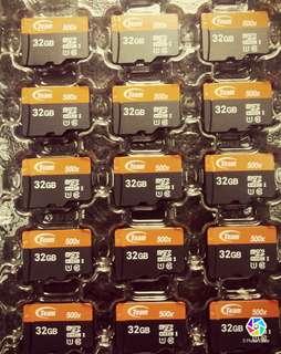 十銓記憶卡32 64G
