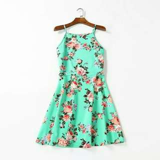 [NEW] Floral Dress