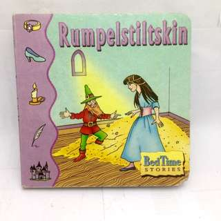Board book Bed Time Story - Rumpelstiltskin