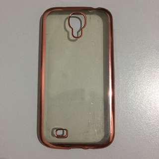 Samsung Galaxy S4 Transparent Rose Gold Case