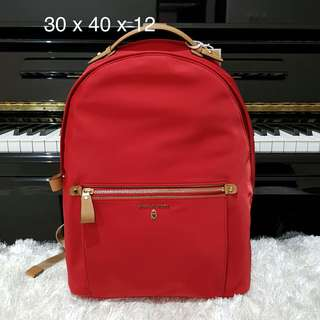 Michael Kors Kelsey Large Backpack Bright Red