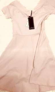 Cotton on nude pink dress