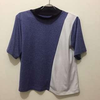 White Purple Top