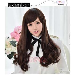 Hair Wig rambut palsu murah wig murah rambut palsu cantik cheap wig anti-shine long straight wig curly wig medium wig short wig raya sale