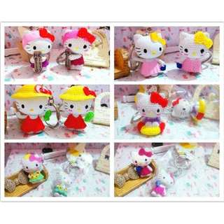 Hello Kitty Lifestyle DIY Keychain Charms