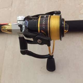 Fishing Reel and accessories (package)