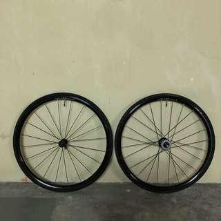 Cornflower wheelset