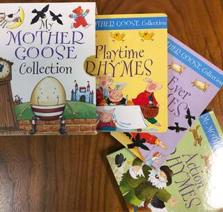 My Mother Goose Collection - Action, Best Ever, Playtime Rhymes