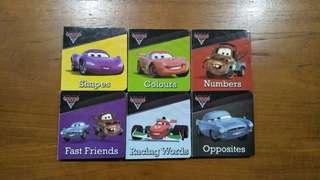 Set of mini Cars board books
