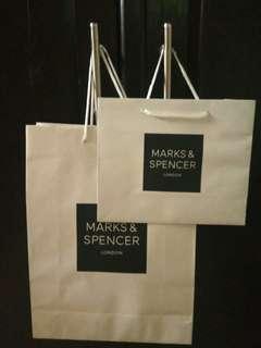 Paper bag Marks & Spencer