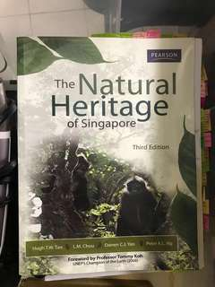 GES1201 The Natural Heritage Of Singapore textbook