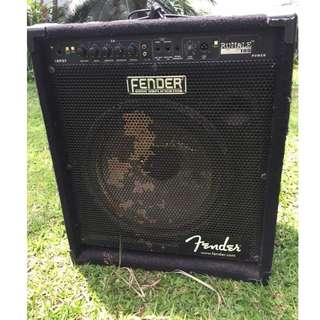 Bass amp fender rumble 100