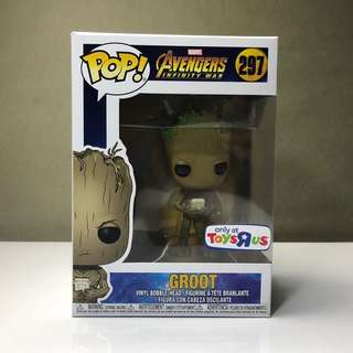Funko Pop Groot Avengers Infinity War TRU Exclusive